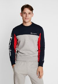 Champion - CREWNECK  - Sweatshirt - dark blue - 0