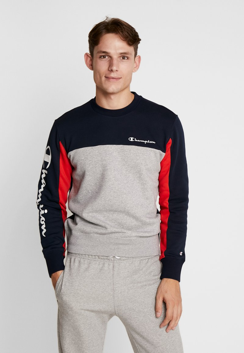 Champion - CREWNECK  - Sweatshirts - dark blue