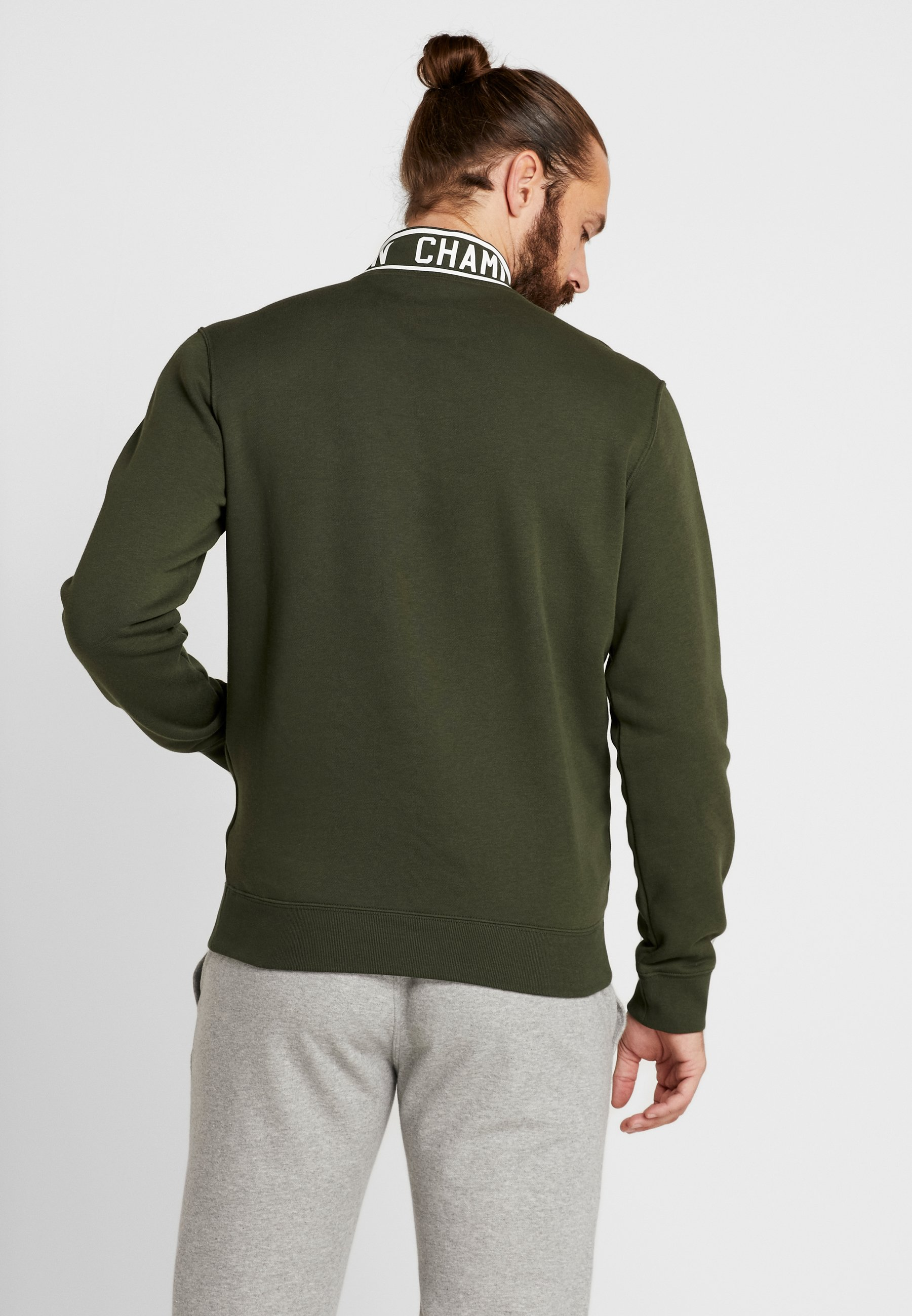 Green Half Half Dark Champion Dark ZipSweatshirt ZipSweatshirt Champion Dark Green Champion Half ZipSweatshirt stdxhQrC