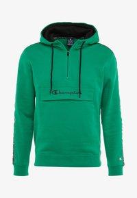 Champion - HALF ZIP - Hoodie - green - 4
