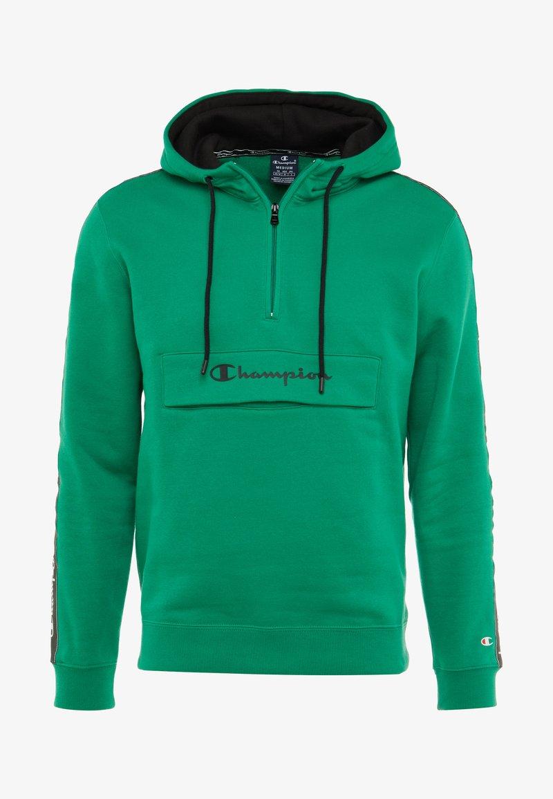 Capuche Champion À Half ZipSweat Green v8n0mNywOP