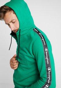Champion - HALF ZIP - Hoodie - green - 3