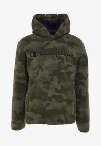 Champion - HOODED - Bluza z kapturem - olive - 4