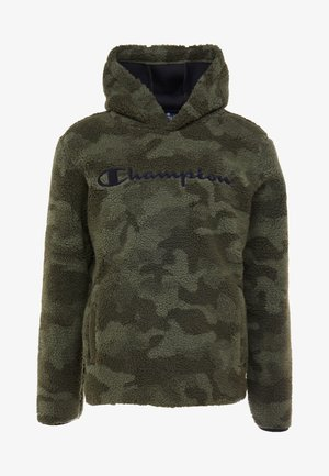 HOODED - Jersey con capucha - olive