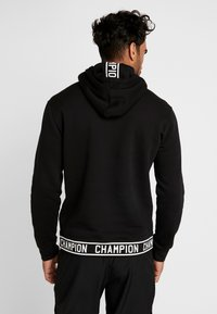 Champion - HOODED  - Kapuzenpullover - black - 2