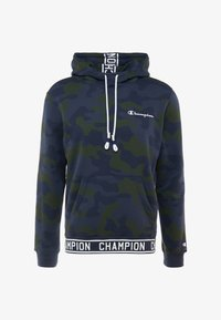 Champion - HOODED  - Jersey con capucha - olive - 3