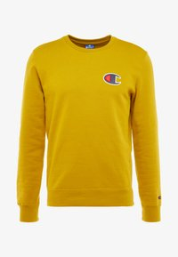 Champion - CREWNECK - Sweatshirt - dark yellow - 4