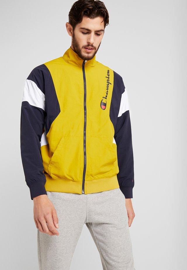 FULL ZIP - Treningsjakke - dark yellow