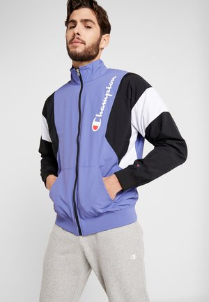 FULL ZIP - Trainingsvest - purple