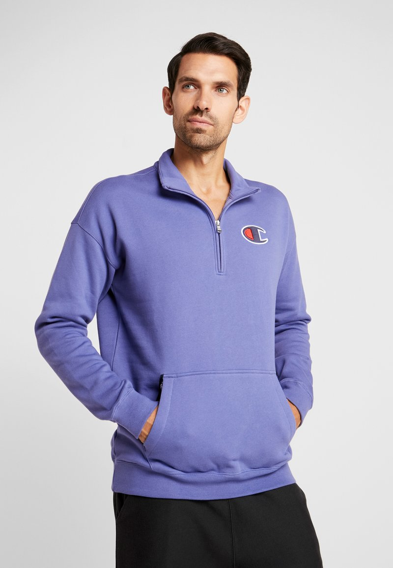 Champion - HALF ZIP - Sweatshirt - purple