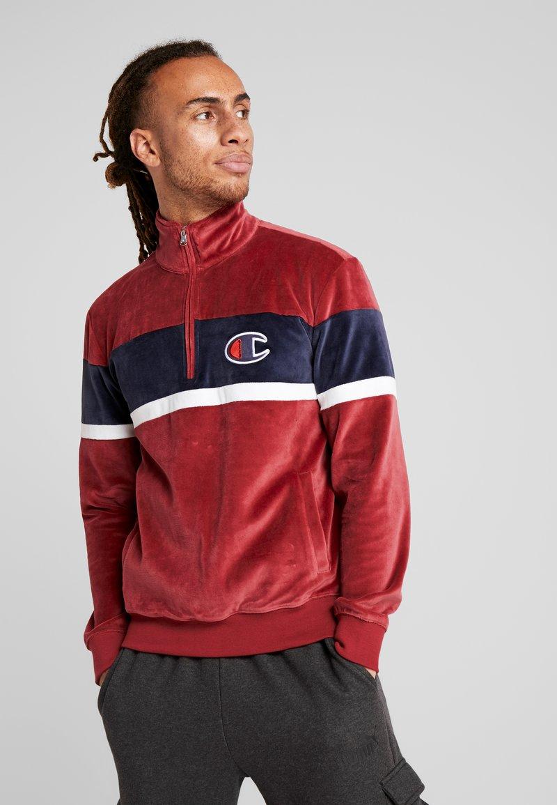 Champion - Sweatshirt - red/navy/white