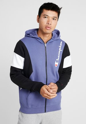 veste en sweat zippée - purple