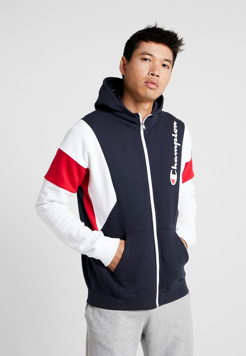 Champion - HOODED FULL ZIP  - Zip-up hoodie - dark blue