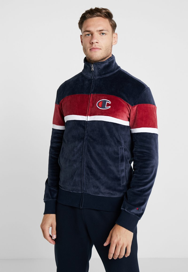 Champion - FULL ZIP  - Mikina na zip - dark blue