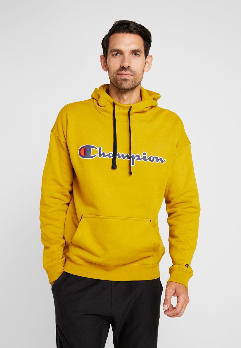 Champion - HOODED  - Hoodie - dark yellow
