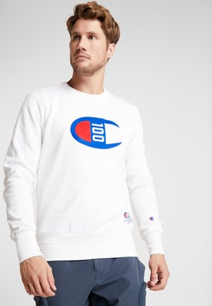 CREWNECK 100TH ANNIVERSARY - Fleece trui - white