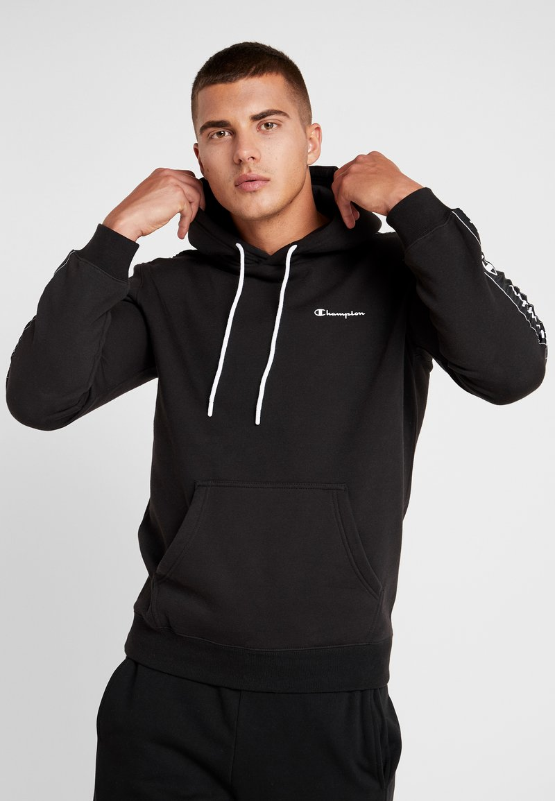 Champion - HOODED  - Bluza z kapturem - black