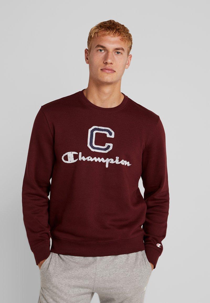 Champion - CREWNECK - Sweatshirt - dark red