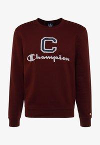 Champion - CREWNECK - Sweatshirt - dark red - 4
