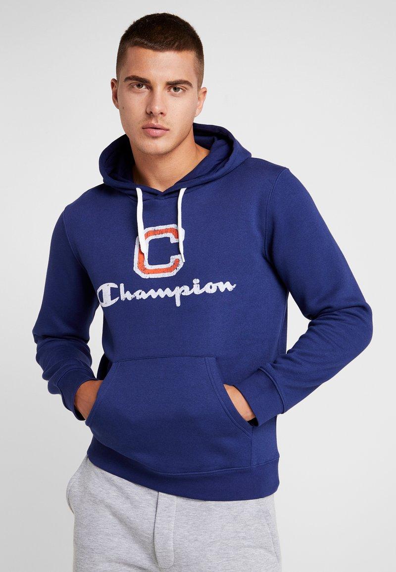 Champion - HOODED  - Hoodie - dark blue