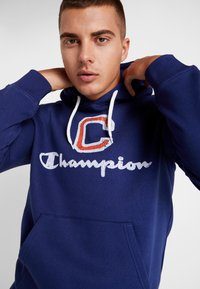Champion - HOODED  - Sweat à capuche - dark blue - 3