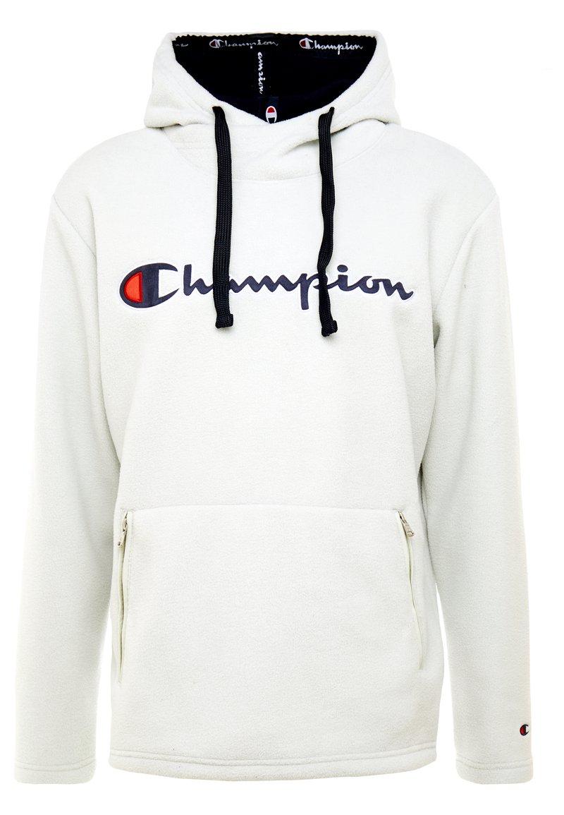 Champion - HOODED TOP - Felpa con cappuccio - offwhite