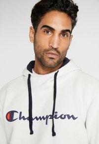 Champion - HOODED TOP - Felpa con cappuccio - offwhite - 4