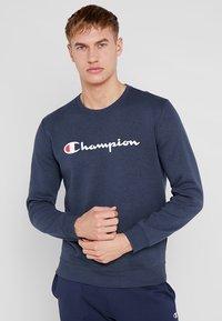 Champion - CREWNECK - Sweatshirt - navy melange - 0