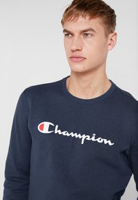 Champion - CREWNECK - Sweatshirt - navy melange - 4
