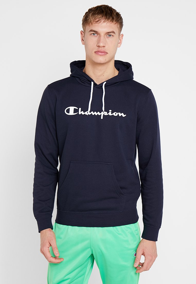 Champion - HOODED - Kapuzenpullover - dark blue