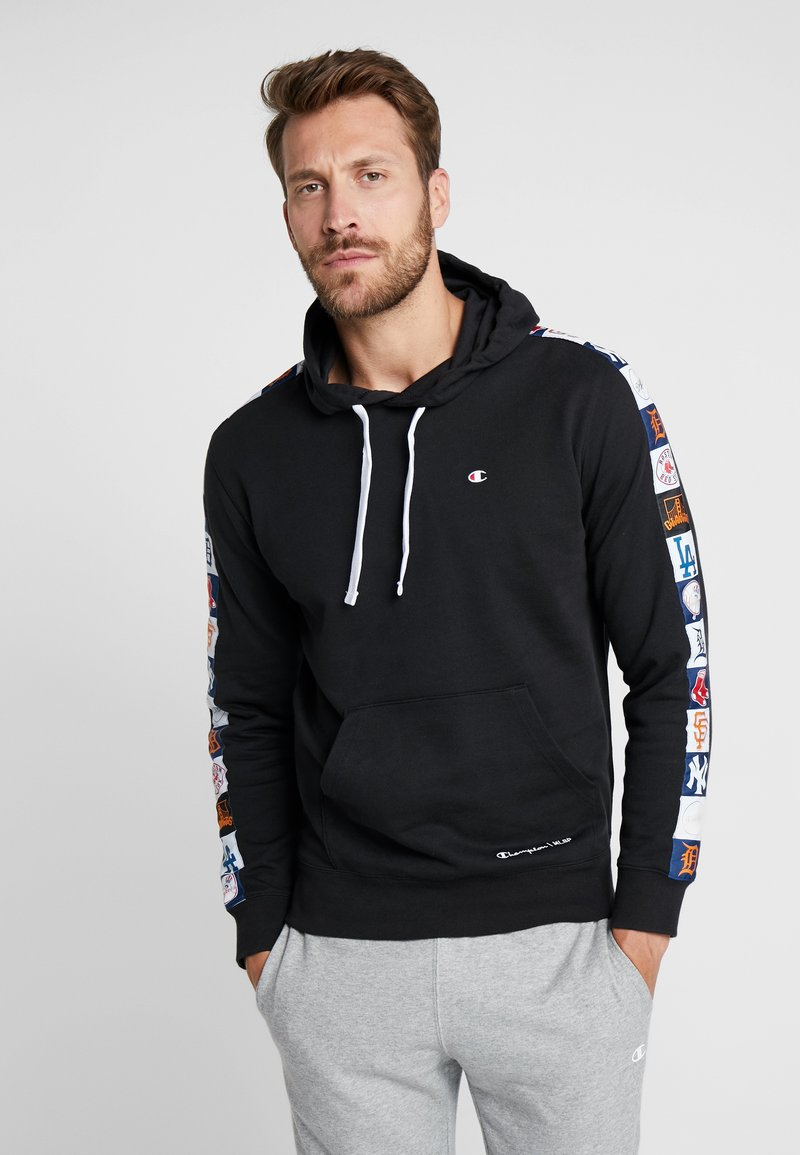 Champion - MLB MULTITEAM HOODED - Bluza z kapturem - black