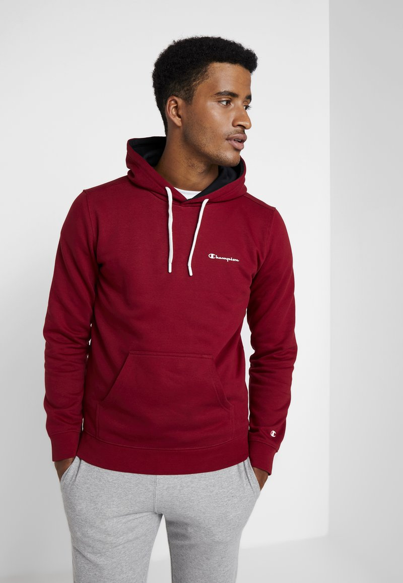 Champion - HOODED  - Hoodie - dark red