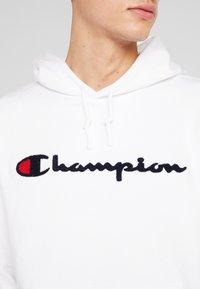 Champion - BIG SCRIPT LOGO - Hoodie - white - 5