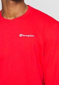 Champion - CREWNECK - Bluza - dark red - 4