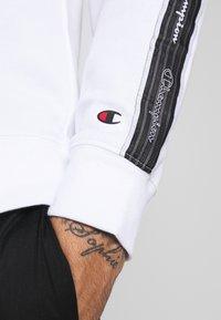 Champion - TAPE CREWNECK - Sweatshirt - white - 5