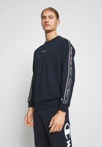 Champion - TAPE CREWNECK - Mikina - dark blue - 0