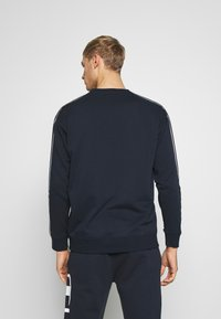 Champion - TAPE CREWNECK - Mikina - dark blue - 2
