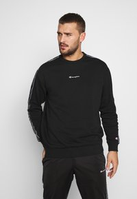 Champion - TAPE CREWNECK - Collegepaita - black - 0