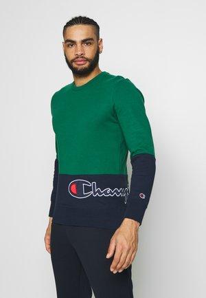 ROCHESTER CREWNECK BLOCK - Bluza - green