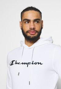 Champion - HOODED - Hoodie - white - 3