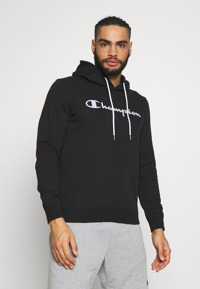 HOODED - Huppari - black