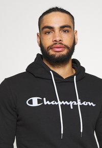 Champion - HOODED - Mikina s kapucí - black - 3