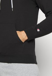 Champion - HOODED - Mikina s kapucí - black - 5