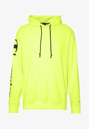 HOODED - Hoodie - neon yellow