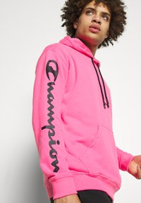 Champion - HOODED - Bluza z kapturem - pink - 5