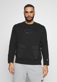 Champion - ROCHESTER WORKWEAR CREWNECK - Bluza - black - 0