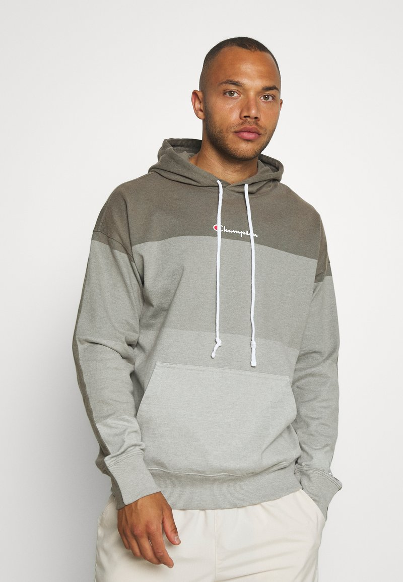 Champion - ROCHESTER ECO SOUL HOODED - Bluza z kapturem - taupe