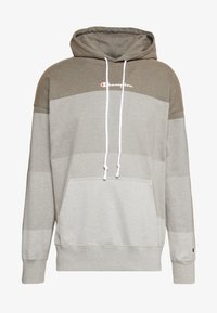 Champion - ROCHESTER ECO SOUL HOODED - Bluza z kapturem - taupe - 4