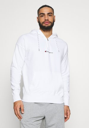 ROCHESTER HALF ZIP HOODED - Huppari - white