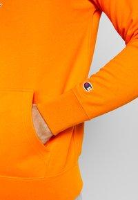 Champion - ROCHESTER HALF ZIP HOODED - Huppari - orange - 5